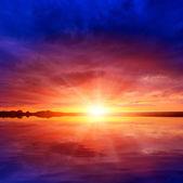 Sunshine over water — Stock Photo