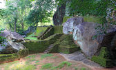 Ruins of Sigiriya castle — Foto Stock