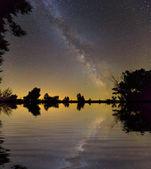Nocturna del cielo — Foto de Stock