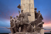 Monument to the heroes of the liberation war of 1648-1654 in Ukr — Stock Photo