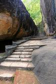 Old stairs in Sigiriya Castle — Foto Stock