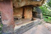 Ancient seat in Sigiriya castle — Foto Stock