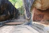 Old wall of Sigiriya castle — Foto Stock