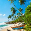 Untouched tropical beach — Stock Photo #12302634