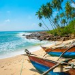 Untouched tropical beach — Stock Photo #12302636