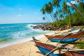 παρθένα τροπική παραλία — Φωτογραφία Αρχείου