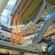 Multilevel mall interior — Stock Photo