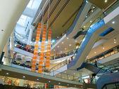 Multilevel mall interior — Stock Photo