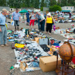 Flea market in Moscow — Stock Photo #12592759