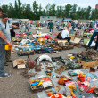 Flea market in Moscow - Stock Photo