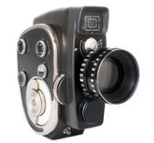 Vintage movie camera — Stock Photo