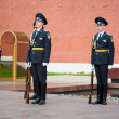 Hourly change of the Guard of Honour — Stock Photo