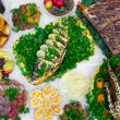 Traditional ukrainian food - Stock Photo