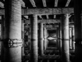 Pod starým mostem — Stock fotografie