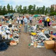Flea market in Moscow — Stock Photo #14713483
