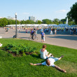 Resting in the Gorky Park — Stock Photo