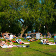 Resting in the Gorky Park — Foto Stock