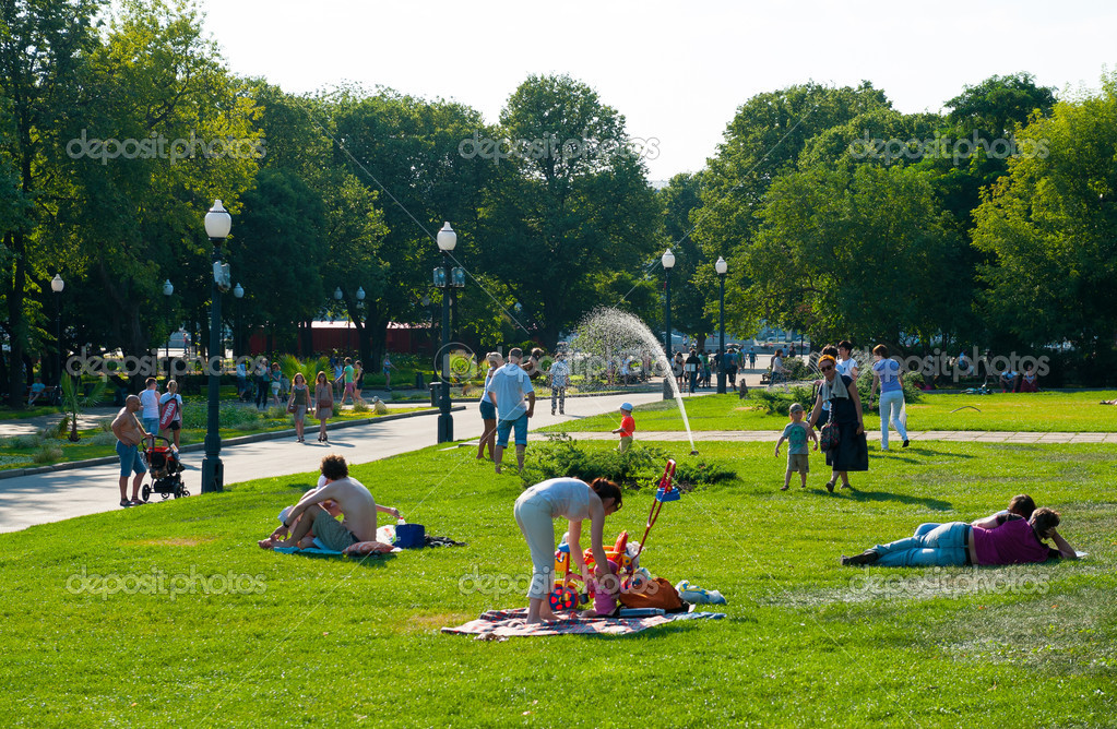 парк в горького фото