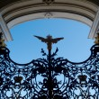 Gate to Winter Palace - Stock Photo