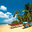 Untouched tropical beach — Stockfoto