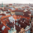 Prague roofs — Stockfoto #18563905