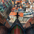 Wroclaw top view — Stock Photo #18563909