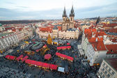 New Year 2013 in Prague — Stock Photo