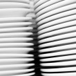 Stack of plates — Stock Photo