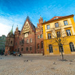 Old city hall in Wroclaw - Stock Photo
