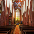 St. Mary Magdalene Church interior - Stock Photo