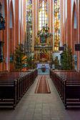 интерьер церкви st. elisabeth — Стоковое фото