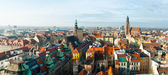Wroclaw top view — Stock Photo