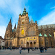 Saint Vitus&#039; Cathedral - Stock Photo