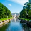 Grand cascade in Pertergof — Stock Photo #19290527