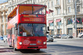 Sightseeing tour bus — Stock Photo