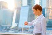 Business woman — Stok fotoğraf