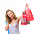 Shopping woman — Stock Photo #2567844