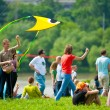 Kite festival — Stock Photo