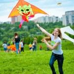 Kite festival — Stock Photo