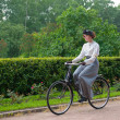 Historic Bike Ride — Stock Photo