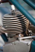 Old moped engine — Stock Photo