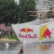 Red Bull Flugtag in Moscow 2013 — Stockvideo