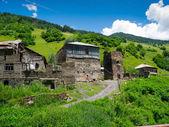Country landscape in Svaneti — Stock Photo