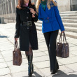 Stock Photo: Pretty women walking