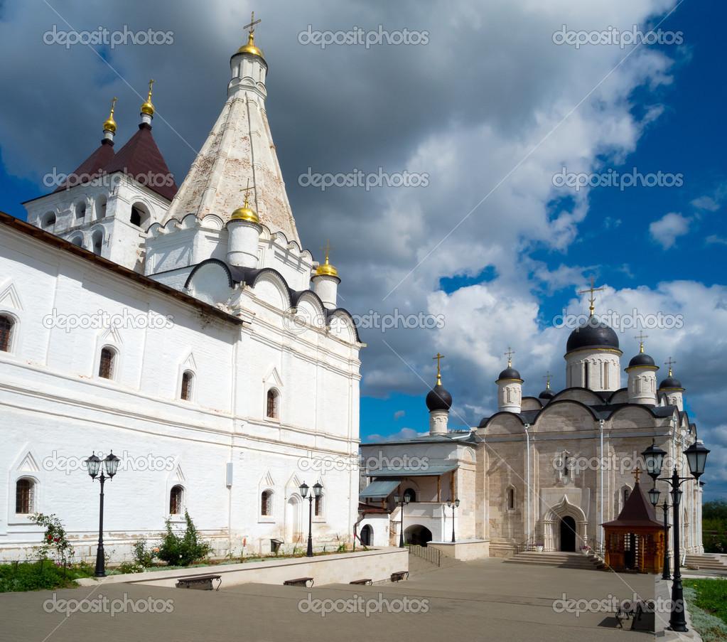 Serpukhov Russia  city images : Vladychny monastery in Serpukhov, Moscow area, Russia — Stock Photo ...
