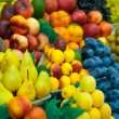 Stock Photo: Lot of fresh fruits for sale