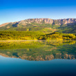 Lake in Crimea mountains — Stock Photo