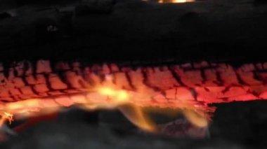 篝火关闭 — 图库视频影像