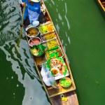 Damnoen Saduak floating market — Stock Photo #45521569