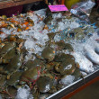 Fresh crabs and fish — Stock Photo #45597071